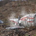OBJ A - Frammenti dell'aereo Falcon